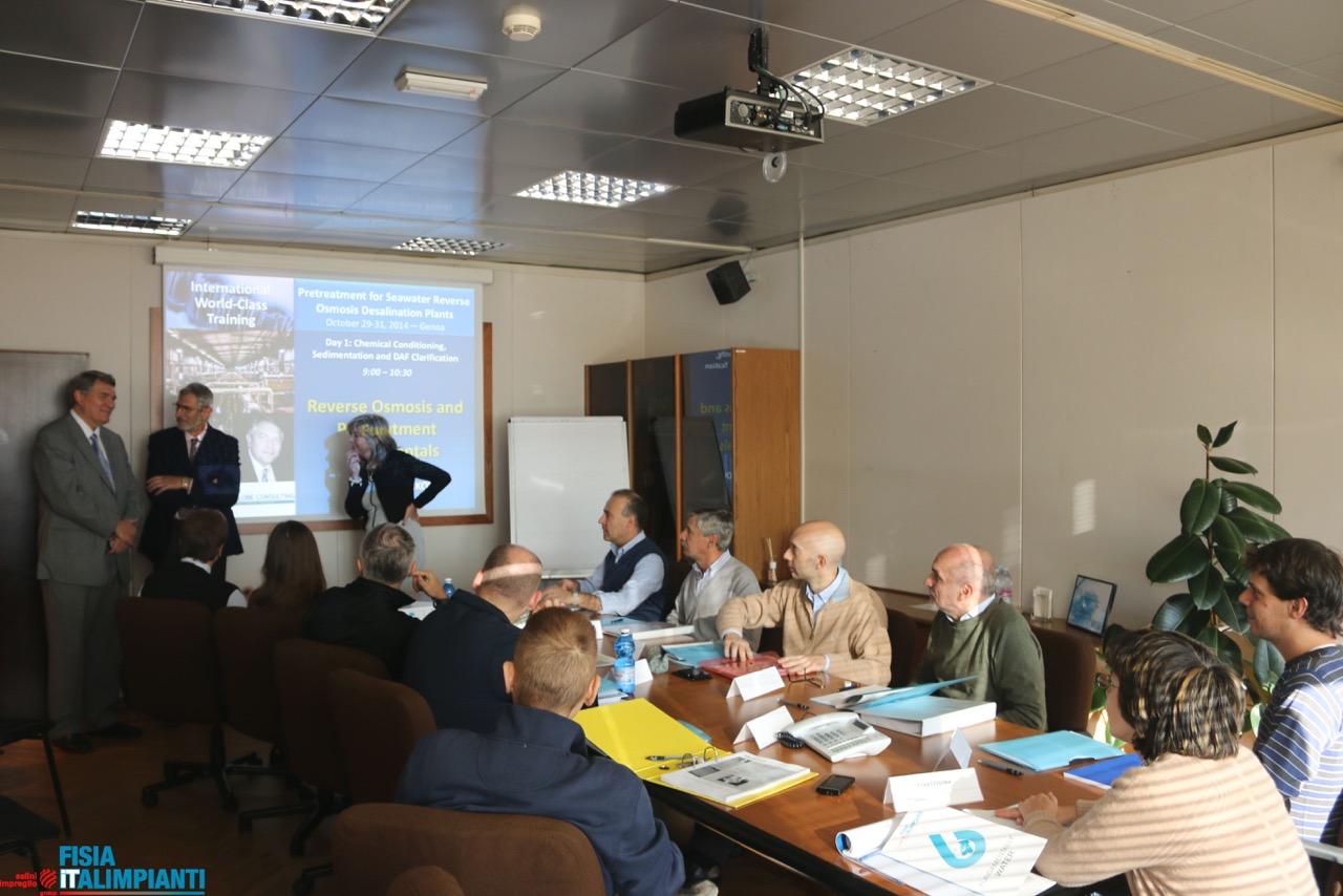 Fisia Italimpianti desalination course 2015