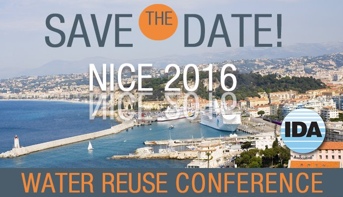IDA Water Reuse Conference 2016 NICE
